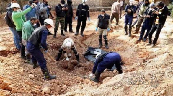 کشف بیش از چهار هزار و پانصد جسد از خرابه های موصل