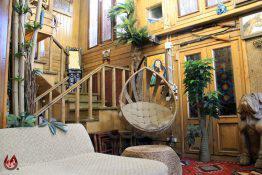 عکس | ساخت خانه جنگلی سازگار با محیط زیست در دل تهران