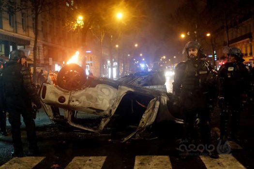 آتش اعتراضات از پاریس به بروکسل و آمستردام کشیده شد