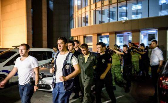 دستور بازداشت ۱۰۳ نظامی دیگر به اتهام ارتباط با گولن صادر شد