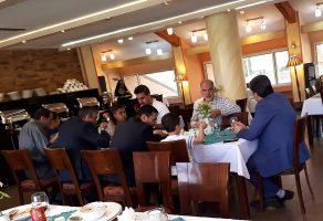 فیلم| مهمانی لاکچری معاون وزیر کار در شمال تهران