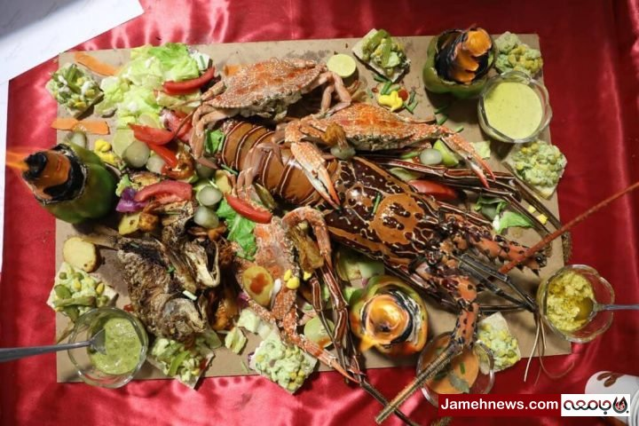 عکس  جشنواره غذاهای خوشمزه در چابهار