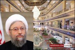 فیلم| انتقاد به ساخت حوزه علمیه لاکچری آیت الله آملی لاریجانی