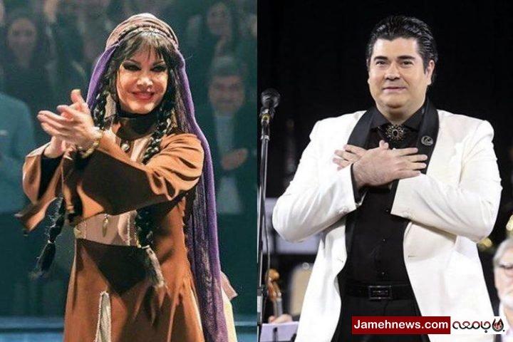 فیلم| رقص «مادر علی کوچولو» در کنسرت سالار عقیلی