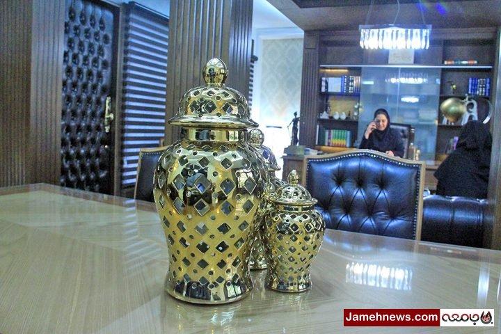 عکس  شیک ترین دفترخانه شهر تهران