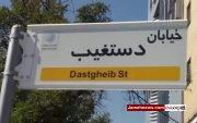 آیا پای عوامل بیگانه در حذف نام شهید در تابلو کوچه ها در میان است؟