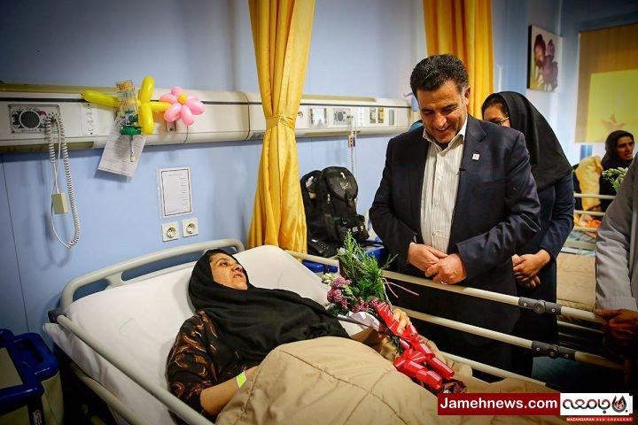 یک جانباز جنگ تحمیلی از بیمارستان «نورافشار» فرار کرد