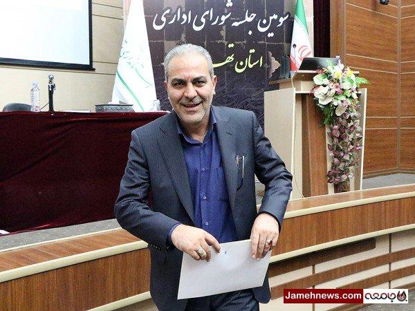 تقدیر از مرد شماره یک برنامه ریزی استان تهران