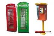 شکست مخابرات تهران در مدیریت تلفن های عمومی| لندن کیوسک ها را اینترنتی کرد!