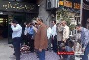 عکس و فیلم| وزیرآموزش و پرورش درب نمازخانه را پلمپ کرد؟!| عاقبت اعتراض معلمان