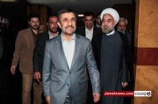 احمدی نژاد: علت قطعنامه ها علیه ایران اقدامات آقای روحانی در سال82 و 83 است