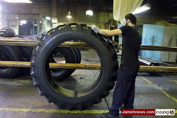 عکس| شکست تحریم ها؛ کارخانه ایران تایر همچنان فعال است