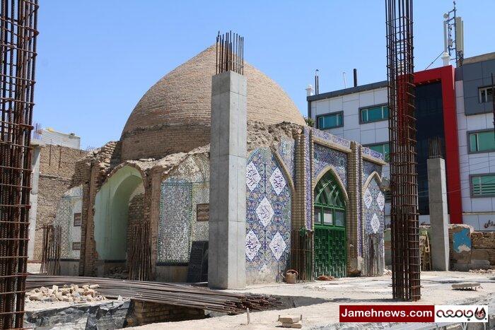 گنبد خواری در تهران  باز هم اوقاف دسته گل به آب داد
