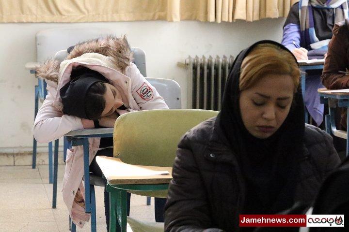 عکس|برگزاری آزمون استخدامی کشور در استان تهران