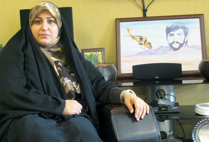 حاشیه های دختر شهید شیرودی  کاندیدای مشکوک شمال ایران!
