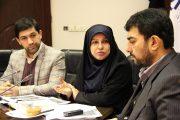 عکس  حضور یک مقام عالی رتبه وزارت اقتصاد در مرکز ملی فرش ایران