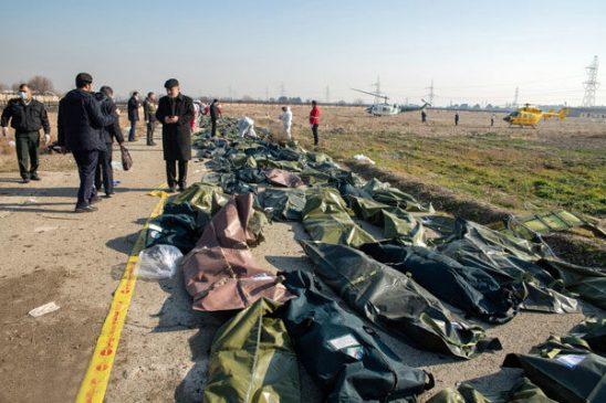 فیلم| صحنه های تکان دهنده از سقوط هواپیمای اوکراینی| اگر حالتان بد می شود نبینید