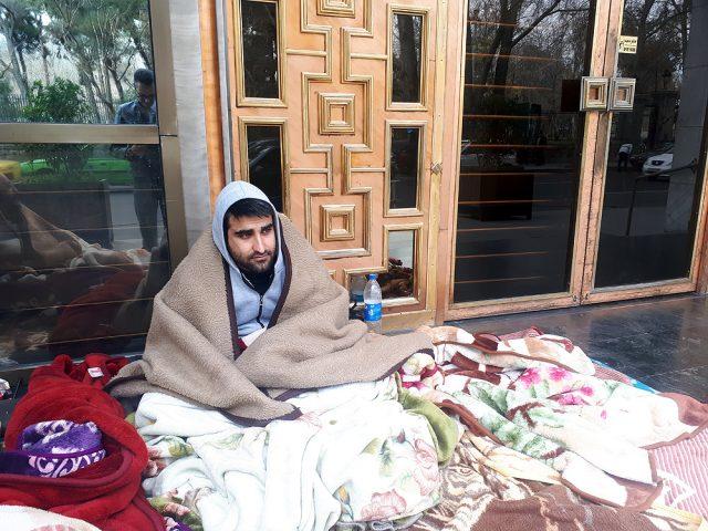 این 2 شهروند ممنوع التصویر شدند| بی توجهی شهردار و بیخیالی خبرنگاران پایتخت