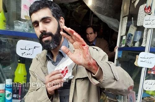 حمله با «قمه» به مسئول هیات خانواده شهدا در تهران