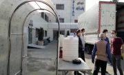 تونل ضدعفونی اتوماتیک در بیمارستان شهدای یافت آباد راه اندازی شد
