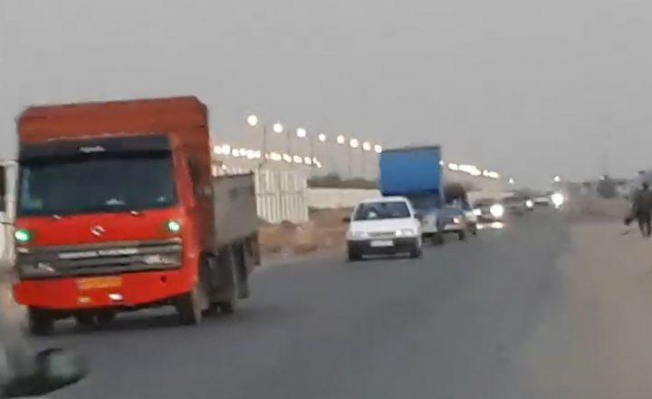 فیلم| وضعیت اسفبار جاده «سایت»| مرگ دو موتورسوار و کوتاهی شهرداری