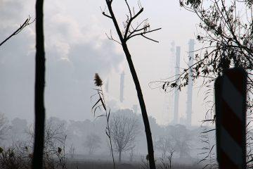 عکس  «شهرستان ری» در وضعیت بحرانی آلودگی هوا
