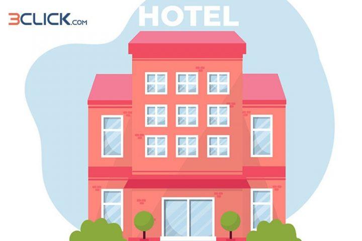 سه کلیک تا رزرو بهترین هتل های ۳ ستاره کیش