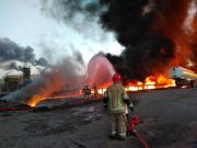 فیلم و عکس| جزئیات آتش سوزی در پالایشگاه تهران/ قربانیان غول پتروشیمی ایران