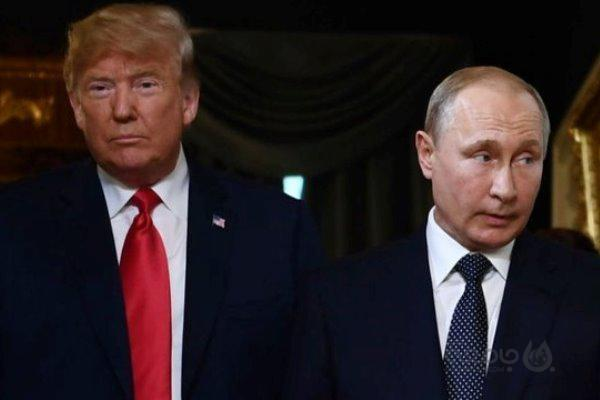 گفتگوی پوتین، ترامپ و ملانیا به طور خصوصی