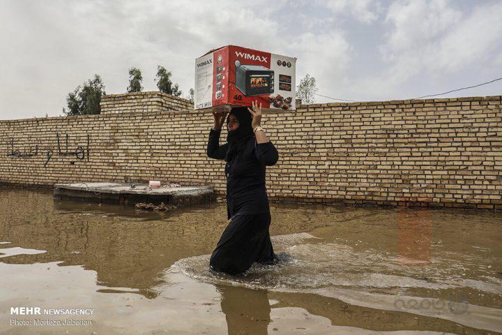عکس هایی که آبروی مدیریت بحران ایران را بُرد
