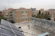 عکس| استقرار سیستم انرژی پاک در ساختمان اداره کار استان تهران
