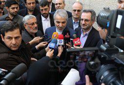 عکس  رونمایی از اسناد توسعه ای استان تهران