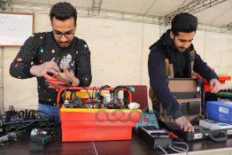 عکس نخستین نمایشگاه متمرکز استانی تولیدات و دست ساخته هنرستان های تهران