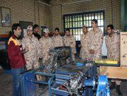 آموزش مهارتی۹۰۰۰ سرباز در پادگانهای استان بوشهر