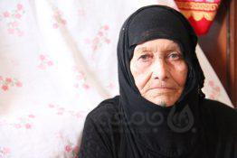 عکس| مادر شهید «صدام» در دورافتاده ترین نقطه کشور