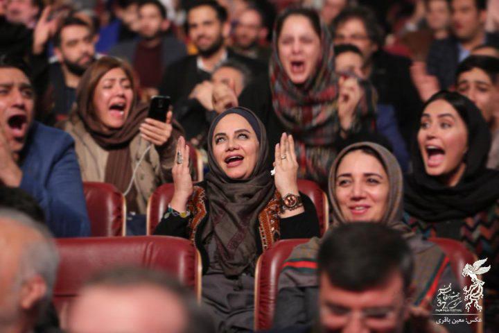 عکس  اختتامیه جشنواره سی و هفتم فیلم فجر