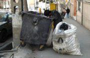 نمایی از زباله گردی در تهران