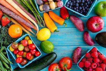 رژیم غذایی رنگین کمانی!