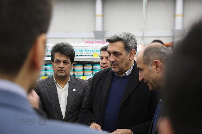 عکس  بازدید شهردار تهران از میادین میوه و تره بار